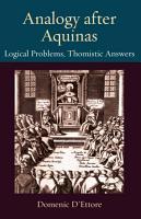 Analogy after Aquinas PDF