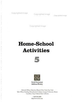 Home School Activities PDF