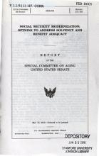 Social Security Modernization PDF