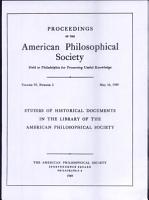 Proceedings  American Philosophical Society  vol  93  no  2  PDF