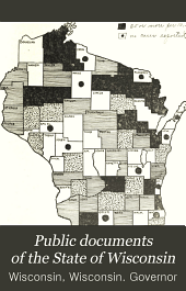 Public Documents of the State of Wisconsin: Volume 5