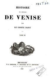Histoire de la république de Venise: Volumes11à12
