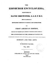 The Edinburgh Encyclopedia: Volume 14