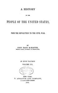 A History of the People of the United States PDF