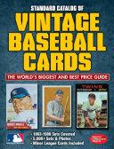 Standard Catalog of Vintage Baseball Cards PDF