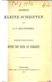 Gesammelte Kleine Schriften