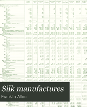 Silk manufactures