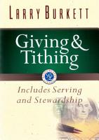 Giving and Tithing PDF