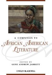 A Companion to African American Literature
