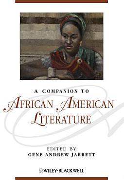 A Companion to African American Literature PDF