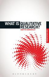 What Is Qualitative Research  Book PDF