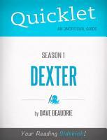 Quicklet on Dexter Season 1  TV Show  PDF