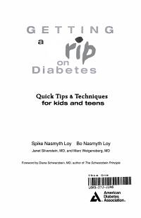 Getting a Grip on Diabetes