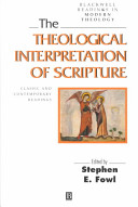 The Theological Interpretation of Scripture