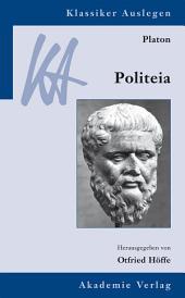 Platon: Politeia: Ausgabe 2