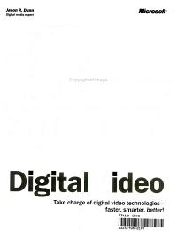 Faster Smarter Digital Video PDF