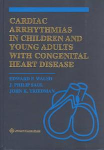 Cardiac Arrhythmias in Children and Young Adults with Congenital Heart Disease