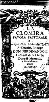 La Clomira, favola pastorale