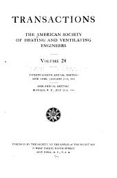 Transactions: Volume 24