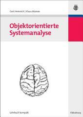 Objektorientierte Systemanalyse