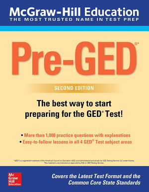 McGraw Hill Education Pre GED  Second Edition PDF