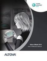 Altova   UModel   2012 User   Reference Manual PDF