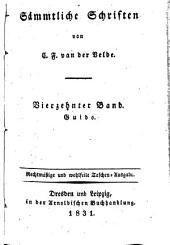 Sämmtliche Schriften von van der Velde, Karl Franz: Band 14
