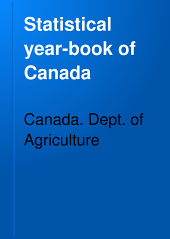 Statistical Year-book of Canada