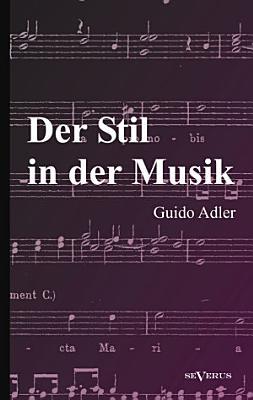 Der Stil in der Musik PDF