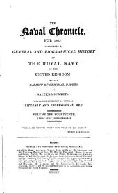 The Naval Chronicle: Volume 14