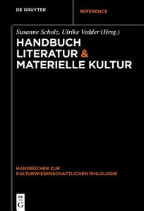 Handbuch Literatur   Materielle Kultur PDF