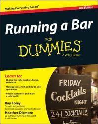 Running A Bar For Dummies Book PDF
