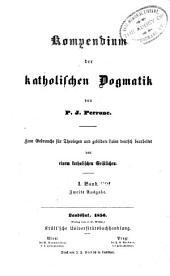 Kompendium Der Katholischen Dogmatik: Band 3