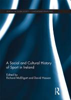 A Social and Cultural History of Sport in Ireland PDF
