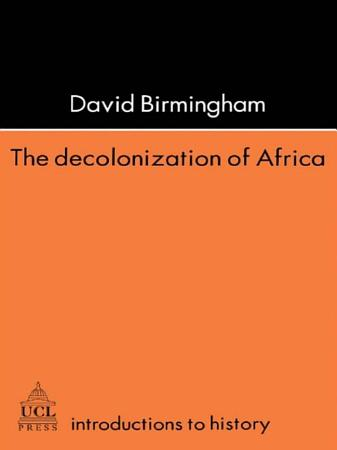 The Decolonization Of Africa PDF
