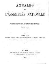 Annales de l'Assemblée nationale: Compte rendu in extenso des séances, Volume26