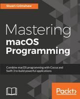 Mastering macOS Programming PDF