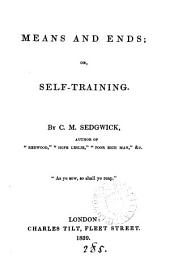 Means and ends; or, Self-training