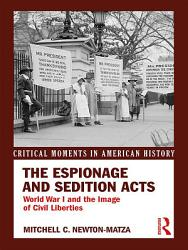The Espionage And Sedition Acts PDF