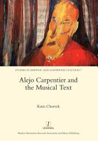Alejo Carpentier and the Musical Text PDF