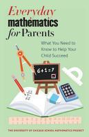 Everyday Mathematics for Parents PDF