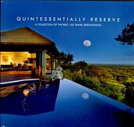 Quintessentially Reserve 2010 Book PDF