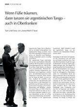 Wenn Füße träumen, dann tanzen sie argentinischen Tango…: ECHT Oberfranken - Ausgabe 43