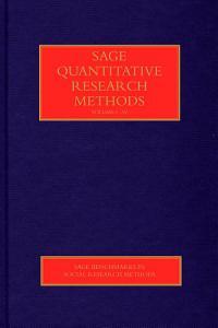 SAGE Quantitative Research Methods PDF