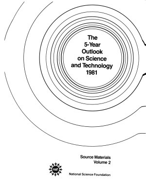 The 5 year Outlook on Science and Technology PDF