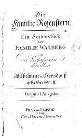 Die Familie Rosenstern: Ein Seitenstück zur Familie Walberg