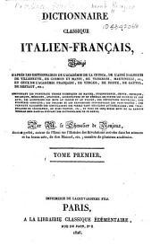 Dictionnaire classique italien-français: Volume1