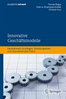 Innovative Gesch  ftsmodelle PDF