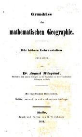 Mathematische und physikalische Geographie nebst Chronologie