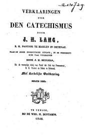 Verklaringen over den catechismus
